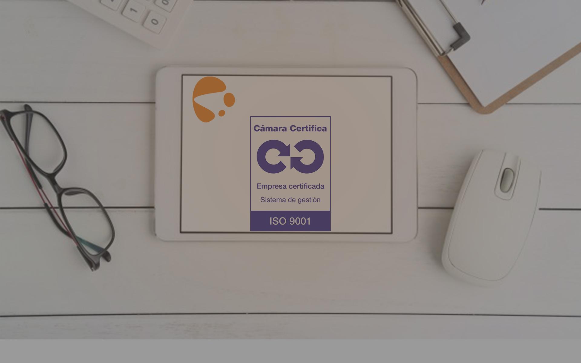 Nuestros procesos están certificados bajo la Norma ISO 9001:2015